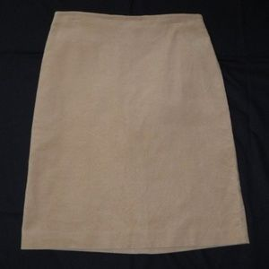 Gap Tan Corduroy A Line Skirt Size 8 Knee Length